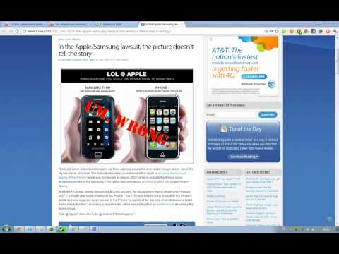Samsung / Android Fanboys Fail! F700 Copied First Apple Iphone! Lawsuit Is A Win! Poor Copycats. (Exclusive)