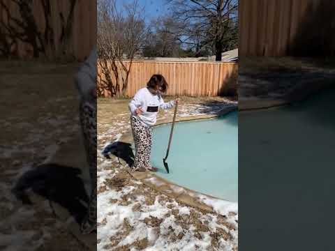 Girl Falls in Icy Cold Water