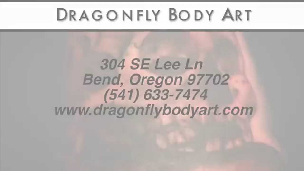 Dragonfly tattoo bend oregon