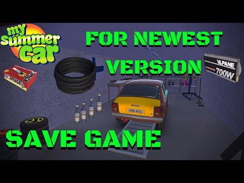 Save Game - Wires, Spark Plug - 100% working - 2018 download - My Summer Car #76