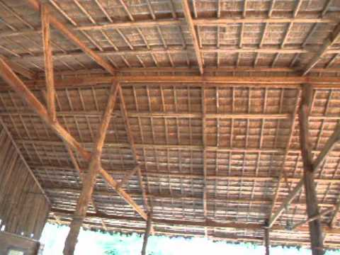 Wood Bamboo And Thatch Roofs Youtube