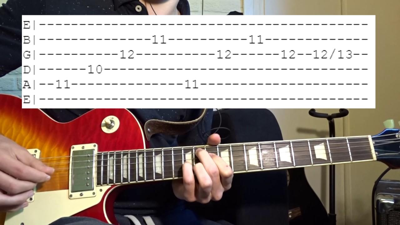 King Krule Baby Blue Guitar Lesson Youtube