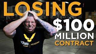Losing $100 Million CNC Machining Contract  Vlog #21