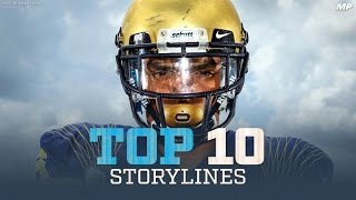 Top 10 Storylines presented by Champs Sports