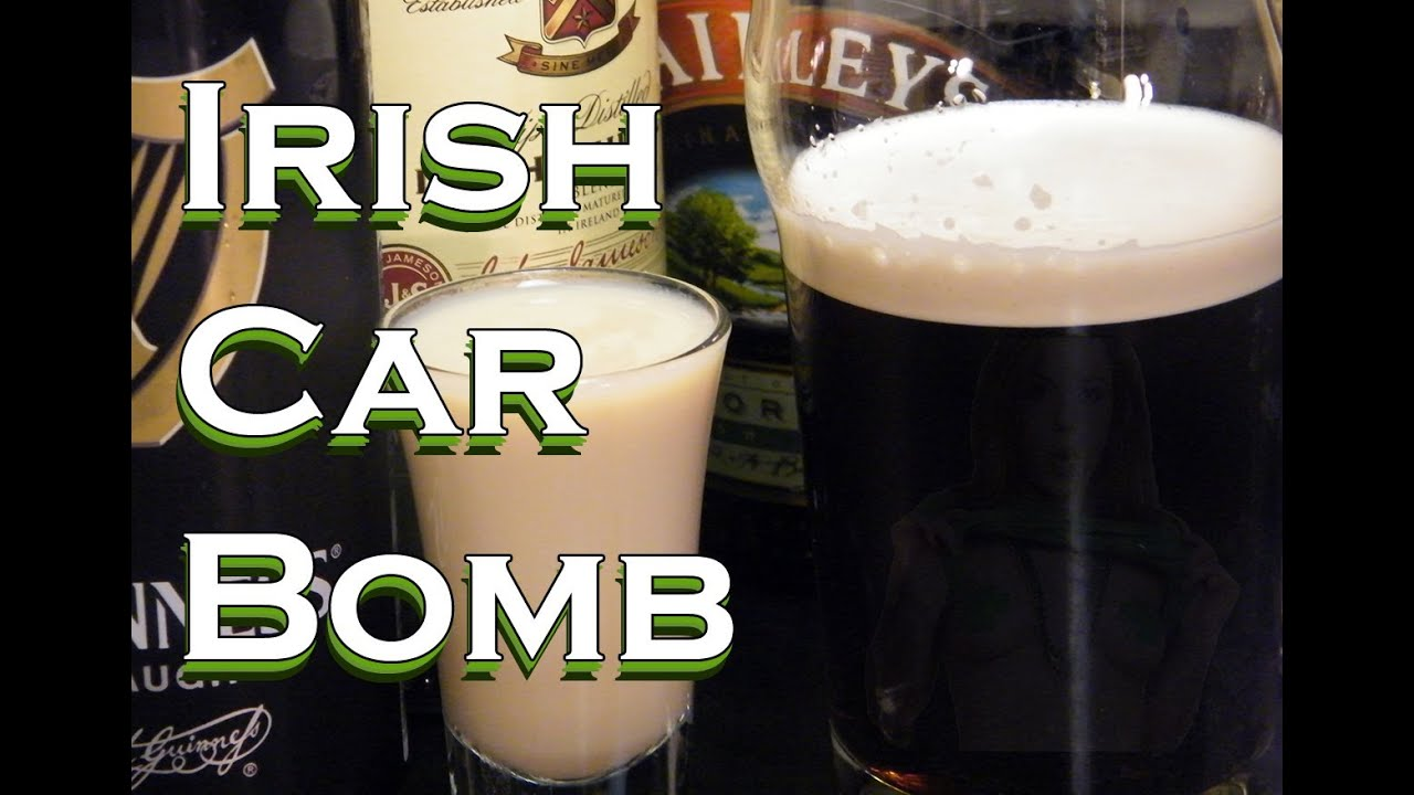 how to make an irish car bomb drink