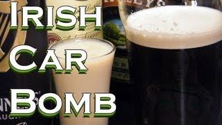 Irish Car Bomb Recipe - Irish Whiskey Drinks - Thefndc.com