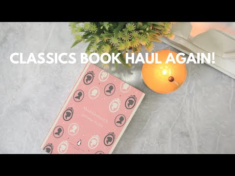 Classics Book Haul | For the love of Classics