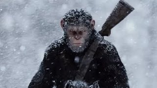 Планета обезьян 3: Война - Трейлер №2  [Новый трейлер 2017 года]
