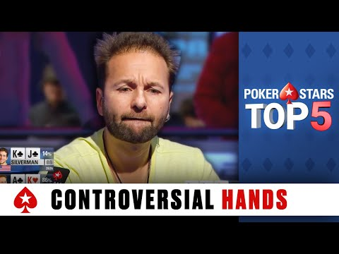 Most Controversial Poker Hands ♠️ Poker Top 5 ♠️ PokerStars Global