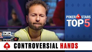 Most Controversial Poker Hands ♠ Poker Top 5 ♠ PokerStars Global