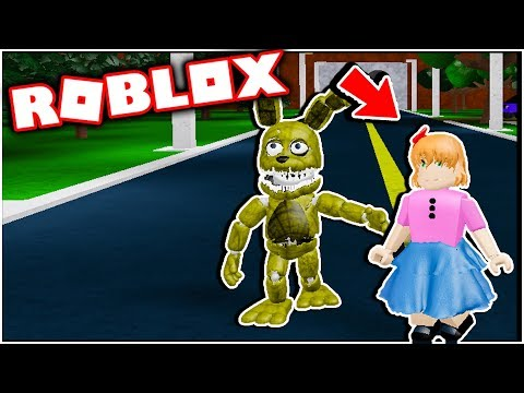 New Aftons Family Diner Secret Character Elizabeth Afton! Five Nights at Freddy's Roblox thumbnail