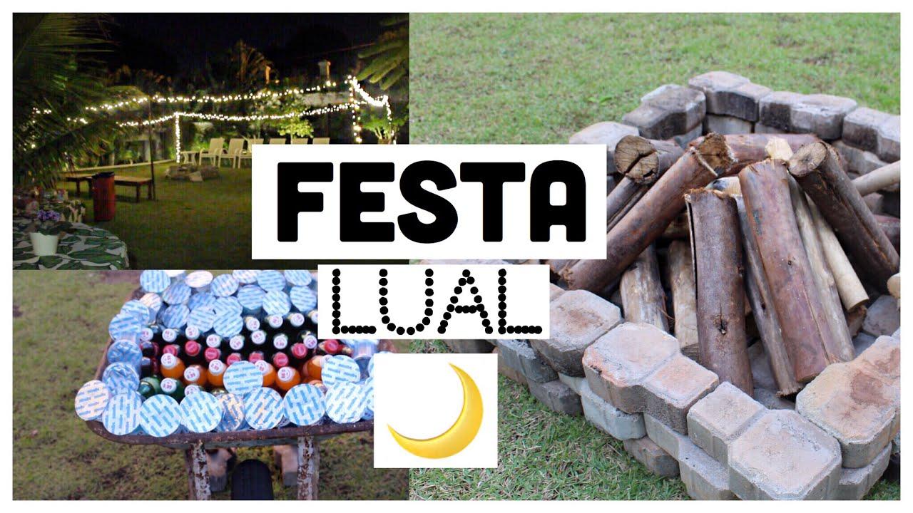 IDEIAS PARA FAZER UMA FESTA LUAL YouTube