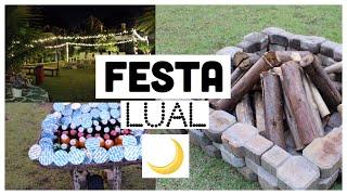 IDEIAS PARA FAZER UMA FESTA LUAL