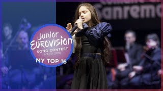 Junior Eurovision 2018 | My Top 16 [so far] 🇦🇿