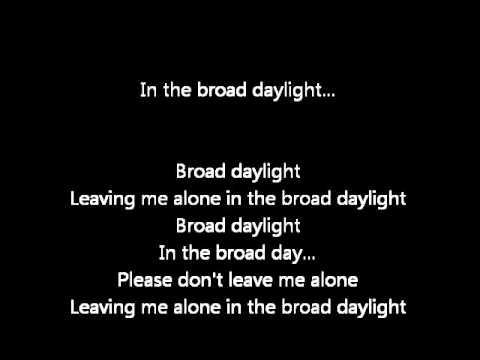 Broad Daylight - Gabriel Rios Karaoke