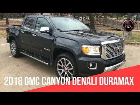 2018 GMC Canyon Denali Duramax Diesel Review and Test Drve