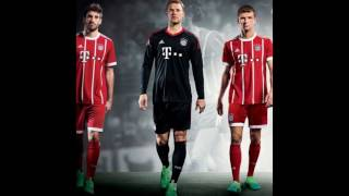 Bayern Munich new home kit for next season 2017- 2018 has been unveiled