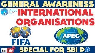 GENERAL AWARENESS - International Organisations- FIFA , APEC-Online Coaching for SBI IBPS Bank PO thumbnail