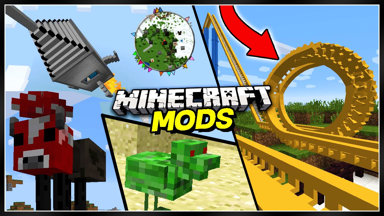 10 BEST Minecra... Mods For Minecraft