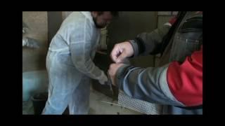 Обучаем правильно делать базовый армирующий слой по минераловатной плите