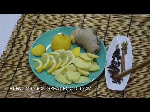Ginger Lemon Tea Great Healthy Detox Drink Hot or Cold