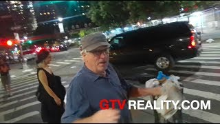 Robert De Niro joking around on GTV Reality