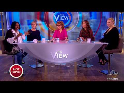 Whoopi Goldberg Visits Tyler Perry Studios  The View