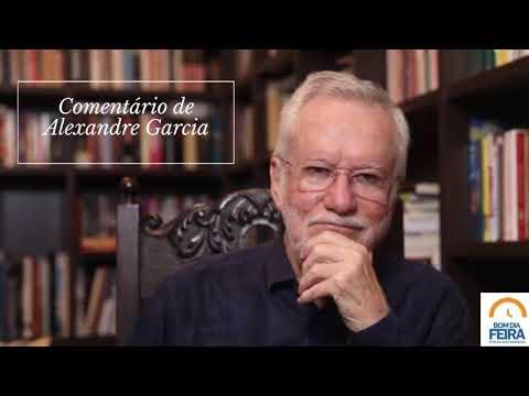 Comentário de Alexandre Garcia para o Bom Dia Feira - 07 de julho