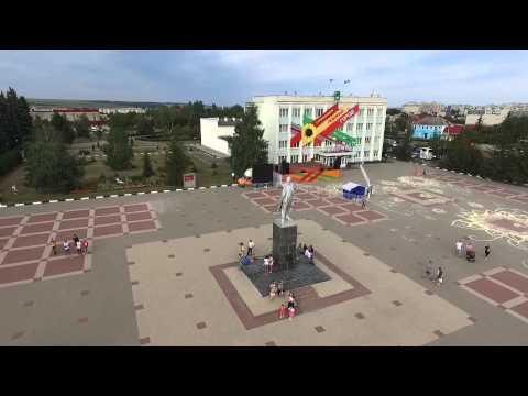 Алексеевка с высоты птичьего полета Dji Phantom 3