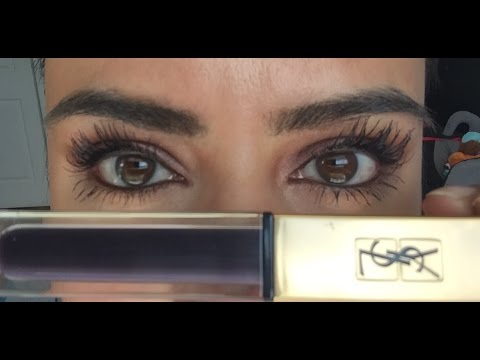 ca1f1f76117 Mascara Monday New YSL Vinyl Couture Mascara Review & Demonstration ...