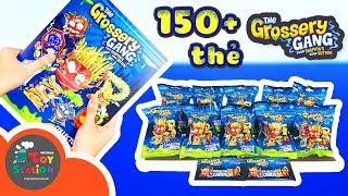 Grossery Gang - Mở hơn 150 thẻ Grossery Gang Collector Cards và Album - ToyStation 100