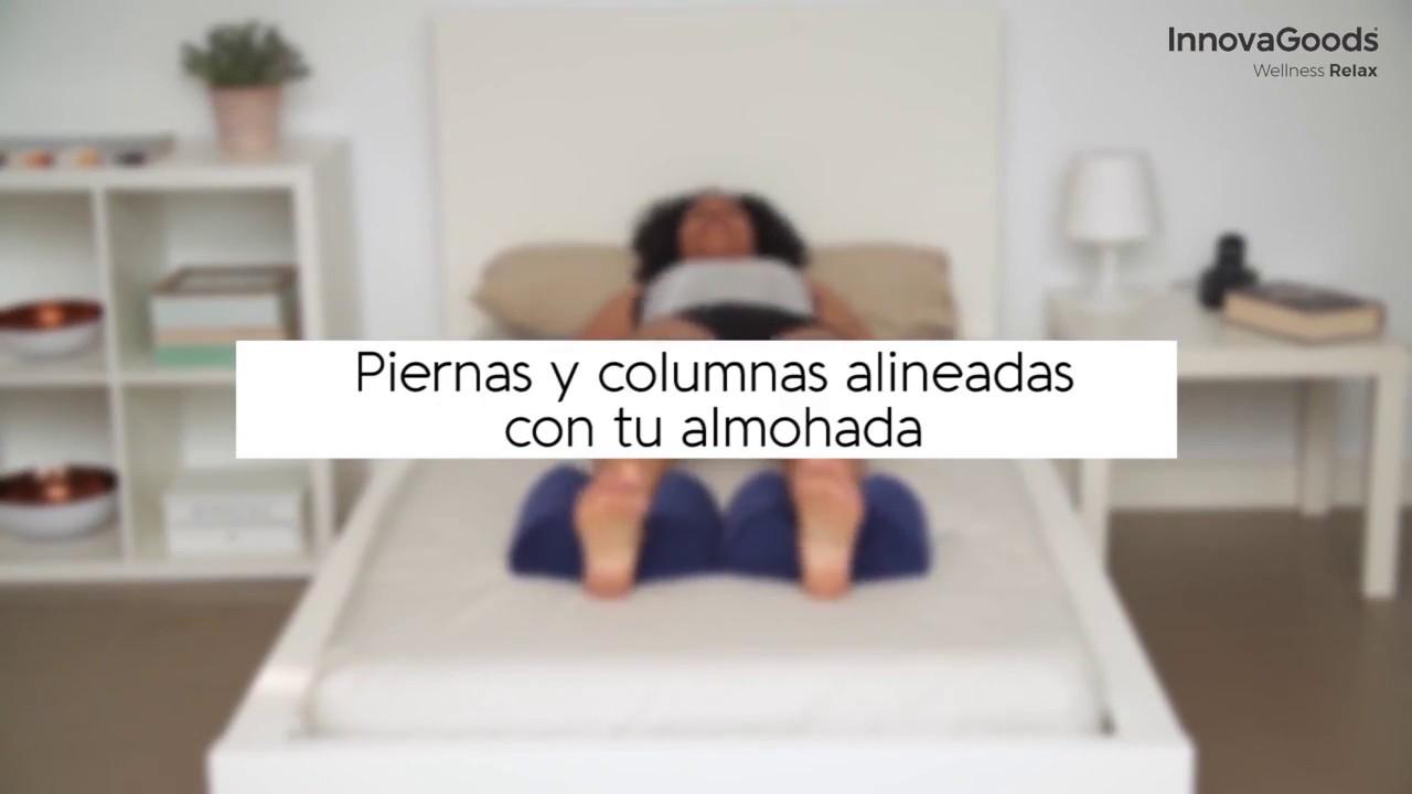 Almohada De Gel Para Dormir En Posici/ón Ergon/ómica Almohadilla ortop/édica NATUMAX Almohada Rodillas Cojin Piernas Dormir Para Aliviar El Dolor