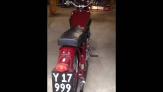 bsa 1955 b33 500 single idle sound