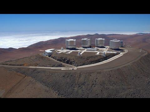 Paranal Observatory - Atacama Desert | 2016 Drone | ESO
