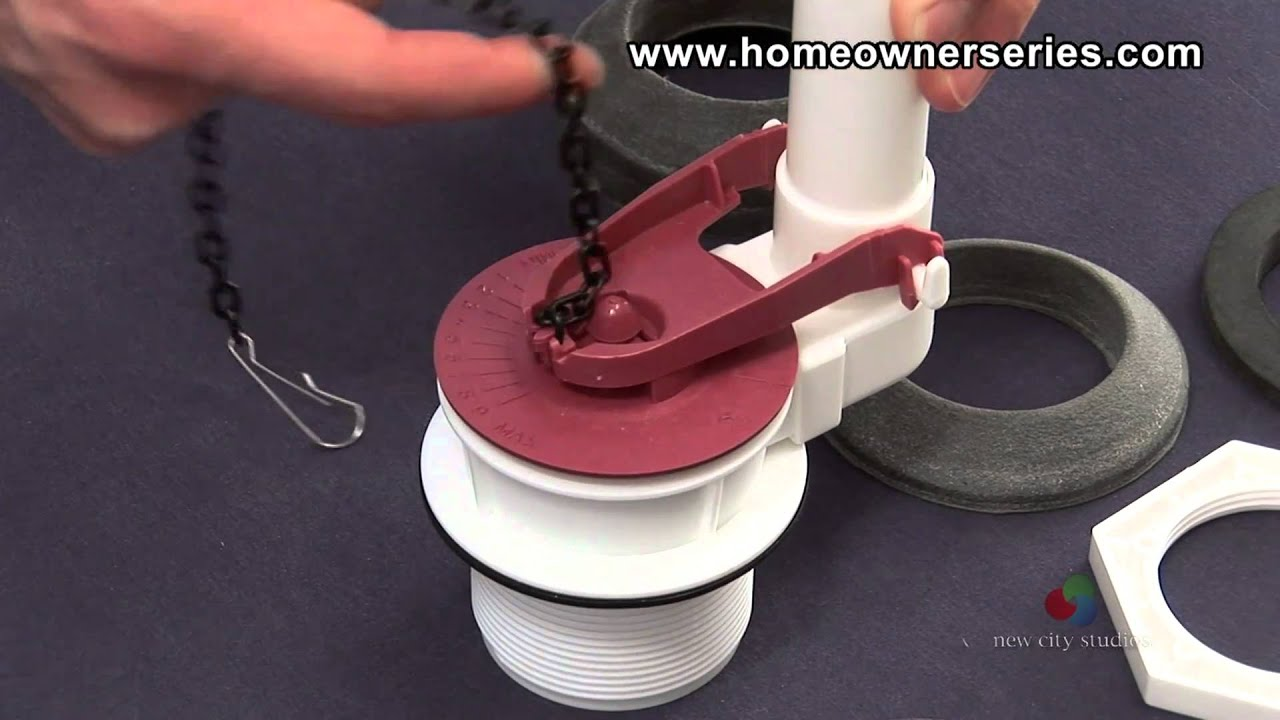 How To Fix A Toilet Parts Flapper Valve YouTube