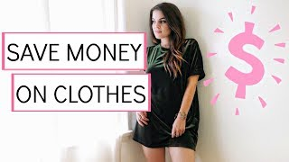 5 Simple Ways To Save Money On Your Wardrobe!