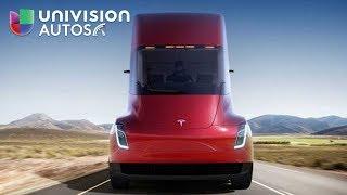 Conoce el camión tráiler eléctrico de Tesla