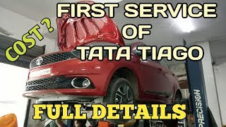 Tata Tiago XZ+ Getting First Service II Full Details II Cost ?? Harry Dhillon
