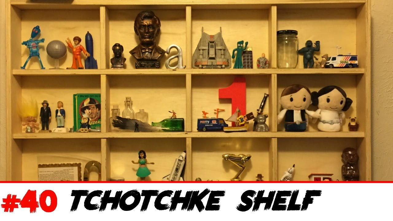 make a knickknack shelf youtube