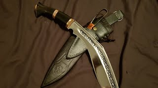 Kukri review: Kailash Blades custom Pensioner.