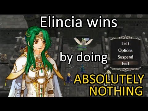 Super Radiant Dawn Part-E - Elincia wins by doing absolutely nothing