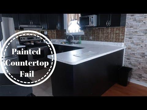 Painted Countertops Fail 2019