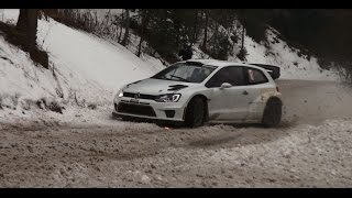 Vid�o S�bastien Ogier testing Monte-Carlo 2015 (snow) par Extrem Rallye (2059 vues)