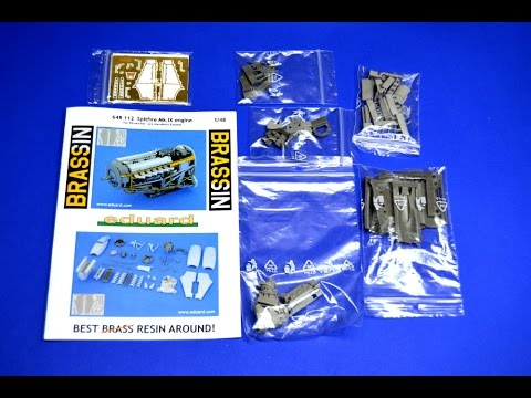 Resin accessories - Eduard Spitfire engine - Great Guide Plastic Models