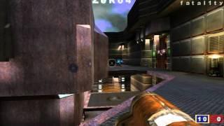 QuakeCon 2001 - Quake 3 Grand Final - Fatal1ty vs ZeRo4 - pt 1 of 2