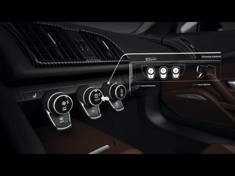 2016 Audi R8 Interior Animation