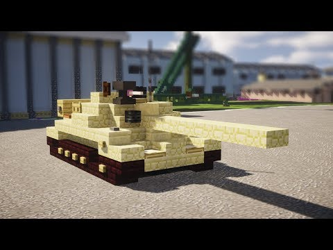 Minecraft Iraqi Type 69 MBT Tank Tutorial
