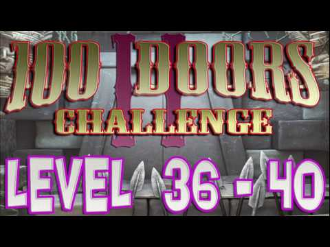100 Doors Challenge 2 Level 36 - 40  Walkthrough 100 Дверей Вызов 2