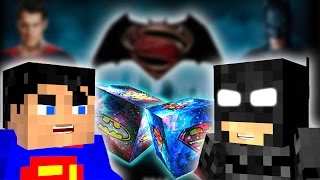 BATMAN vs SUPERMAN! - Minecraft BATMAN SUPERMAN ŞANS BLOKLARI