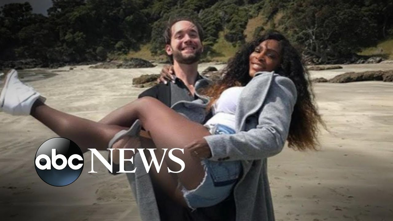 Alexis Ohanian Reveals What Makes His Marriage To Serena Williams Work Gma Youtube